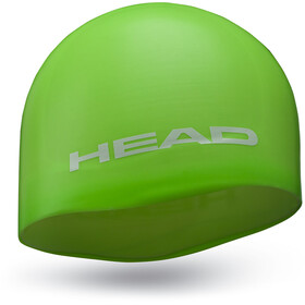 Head Silicone Moulded Berretto, green
